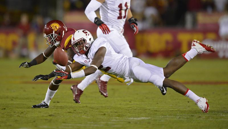 No. 5 Stanford stunned by USC 20-17 in last minute
