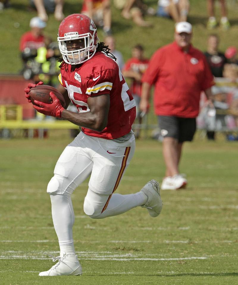 Chiefs' Charles sets sights on Hall of Fame