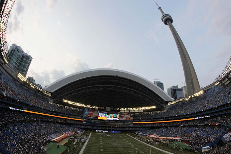 Bills lose edge hosting Falcons indoors at Toronto