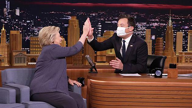 Watch Jimmy Fallon defend controversial Donald Trump interview