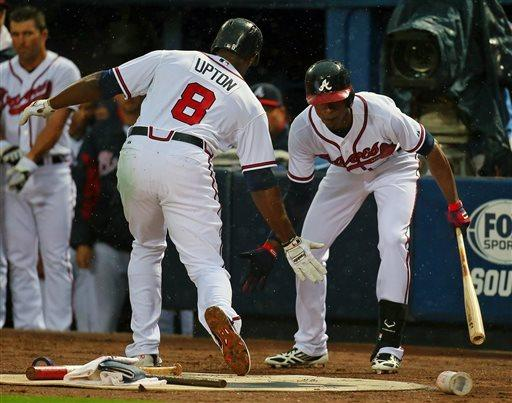 Braves beat Phillies behind Freeman, Upton