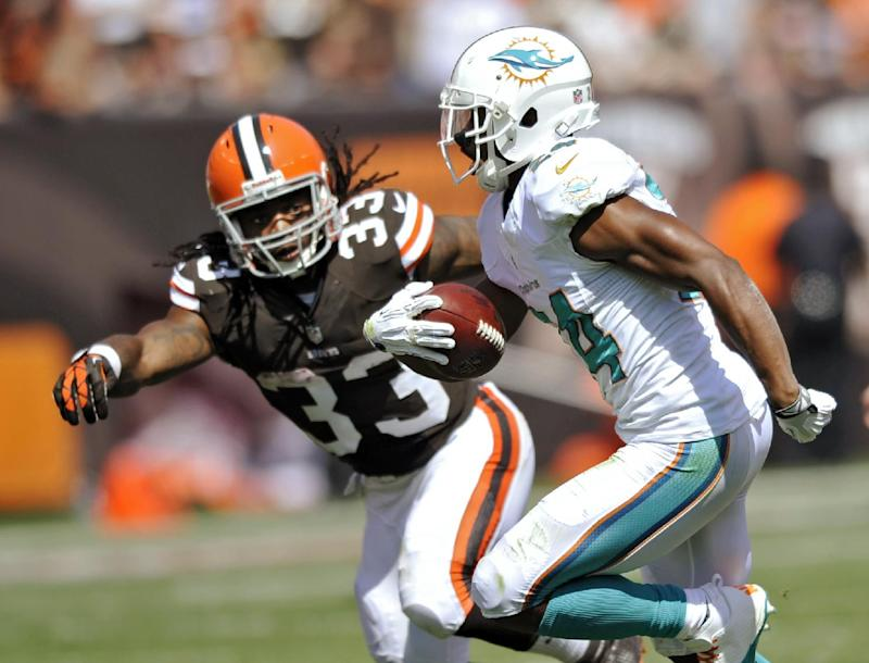 Trent Richardson wants to carry load for Browns