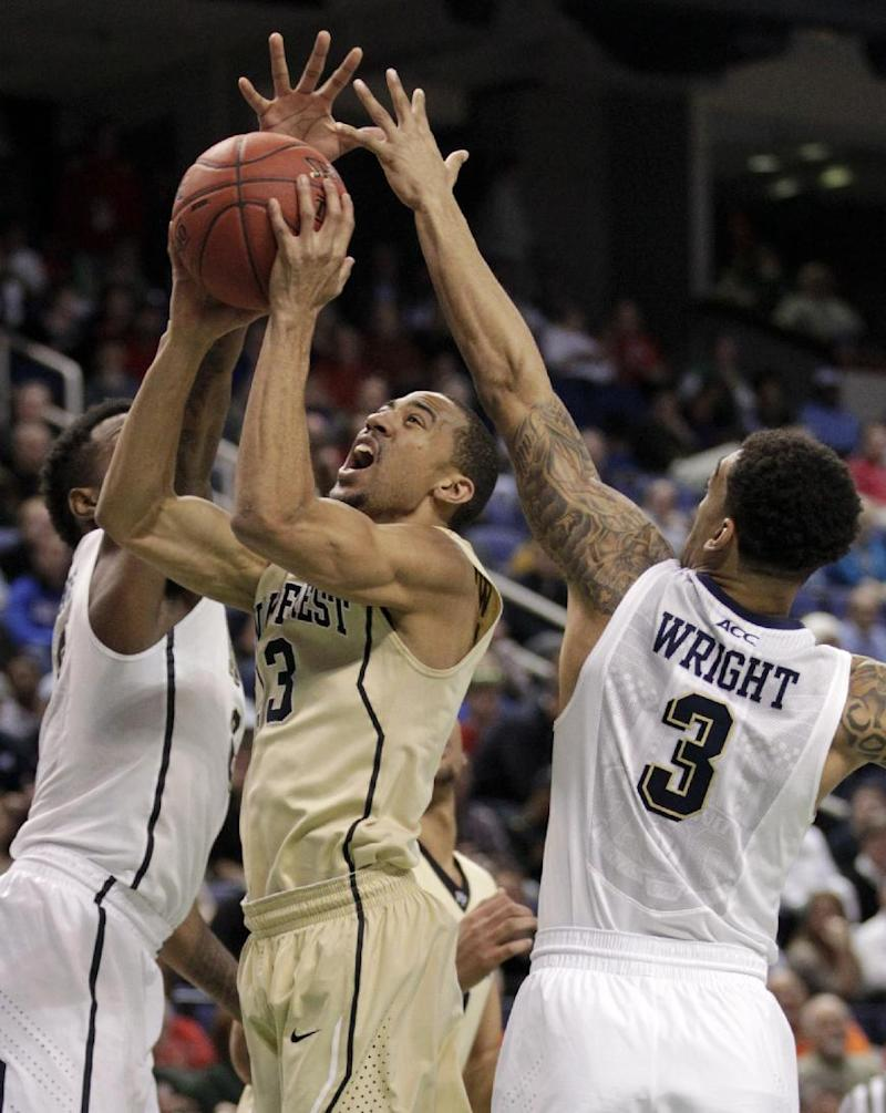 Pitt wins ACC tourney debut, 84-55 over Wake