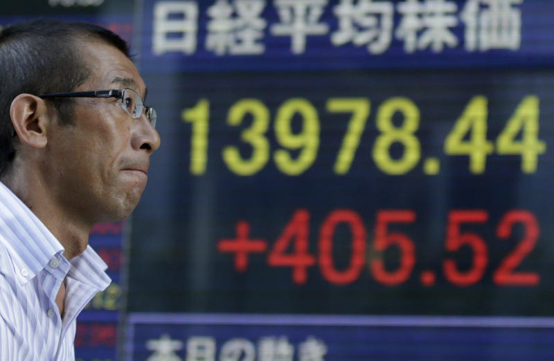 Asian stocks stall as Syria worries flare