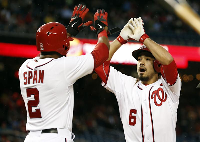 Nationals top Dodgers 4-0 after 197-minute delay