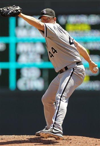 Peavy pitches White Sox to 3-2 win over Twins
