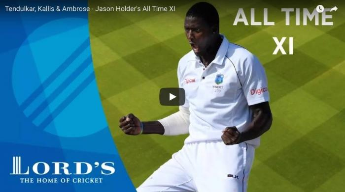 <p>September 20(CRICKETNMORE) -The Lords Cricket Grounds Youtube page recently released the video of West Indies captain Jason Holder naming his All Time XI.</p>