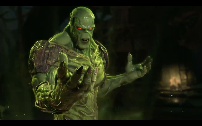 Injustice 2 adds Swamp Thing to the roster