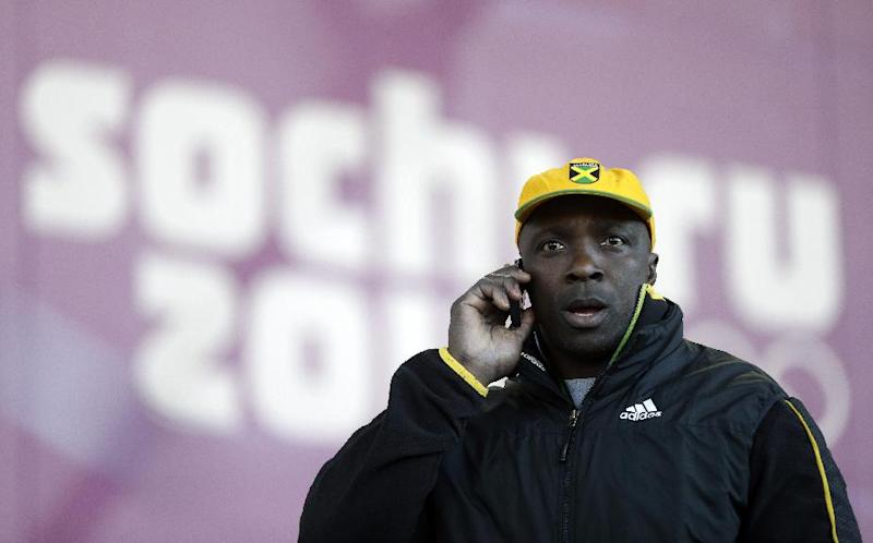 Jamaican bobsledders without equipment in Russia
