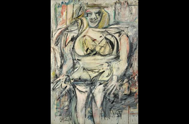 """Woman III"" by Willem De Kooning, $137.5 million."