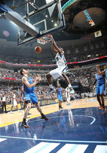 Grizzlies take 2-1 lead beating Thunder 87-81