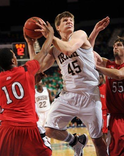 Cooley scores 22 to lead No. 23 Irish over Rutgers