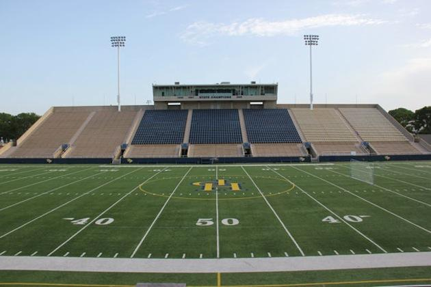 Highland Park's Highlander Stadium, now with CoolPlay FieldTurf — Highland Park School District