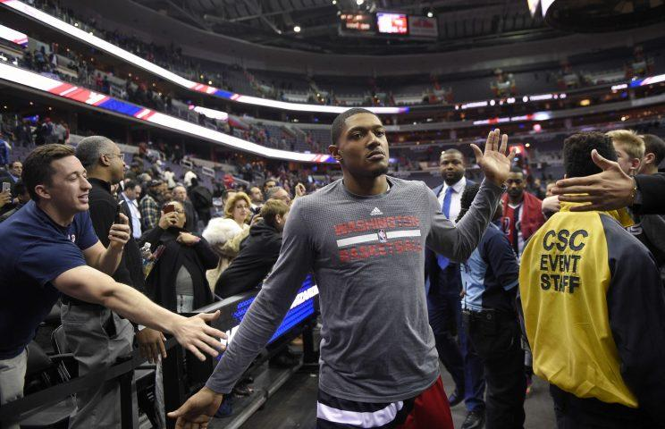 Fans can't get enough of how Bradley Beal is playing. (AP)