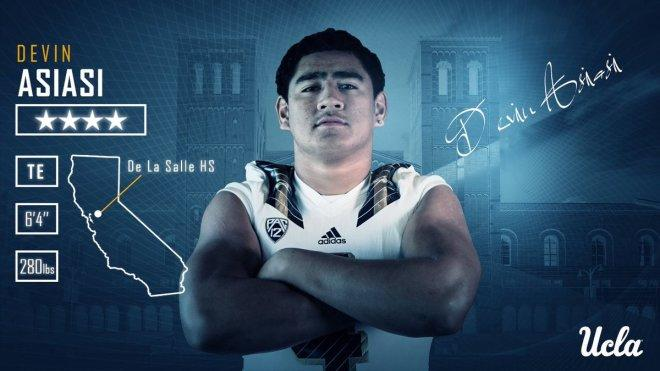 UCLA Football Lands Michigan Transfer TE Devin Asiasi