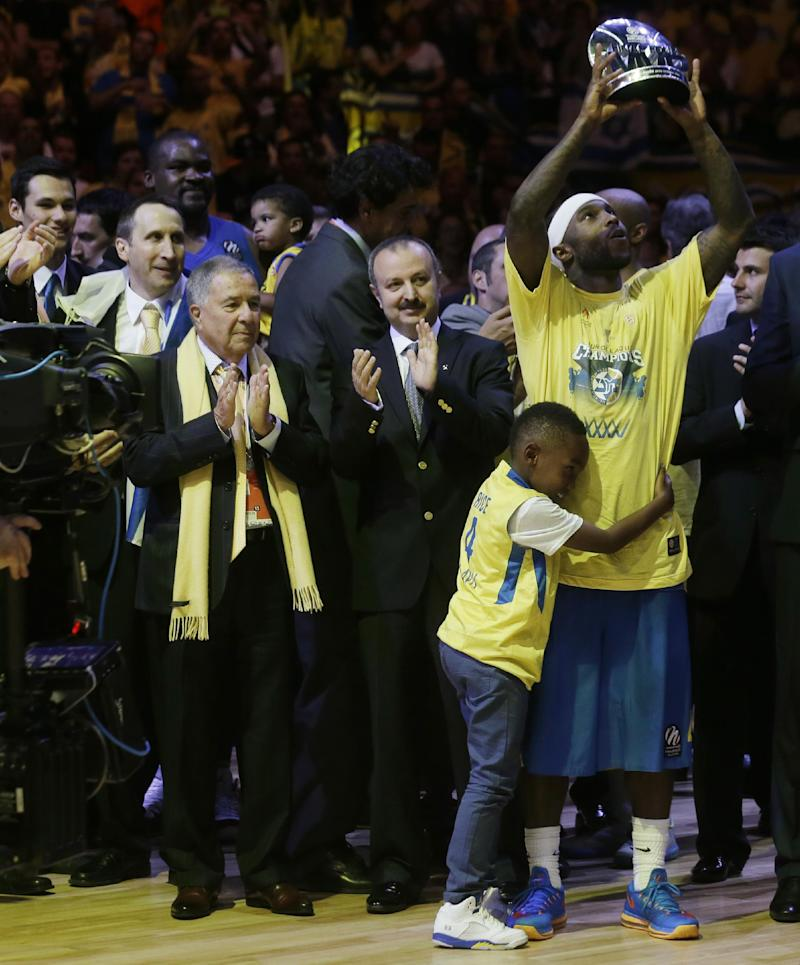 Israel overjoyed by Maccabi's basketball title
