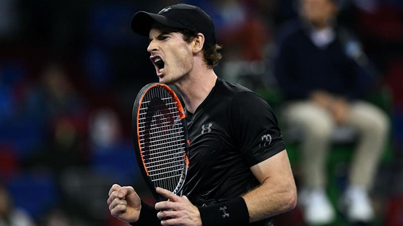 Murray into Shanghai final as Djokovic crashes