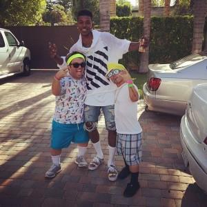 Nick Young Celebrates 29th Birthday in 90's Style