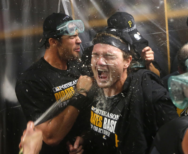 Pittsburgh embracing playoff-bound Pirates