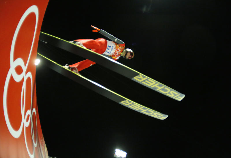 Stoch impressive ahead of large hill jumping final