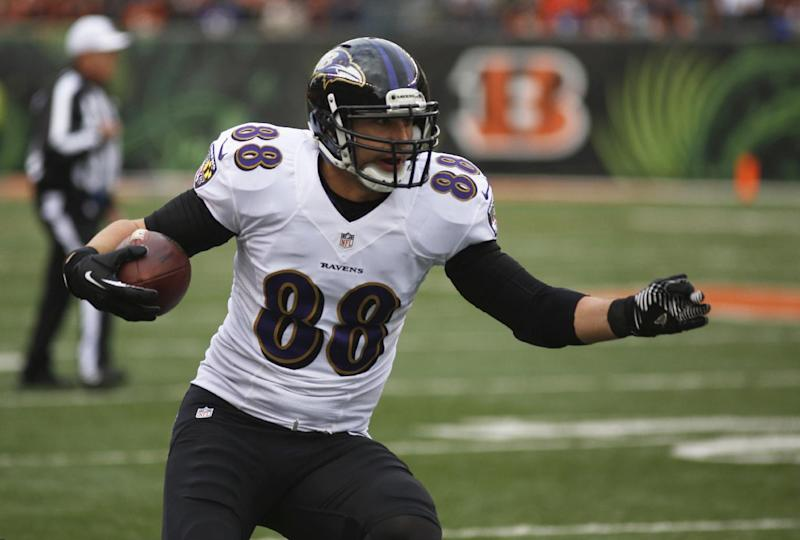 Ravens, Pitta agree on 5-year deal