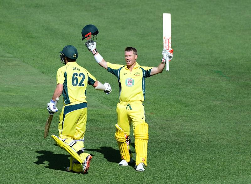 Warners century helps Australia thrash New Zealand