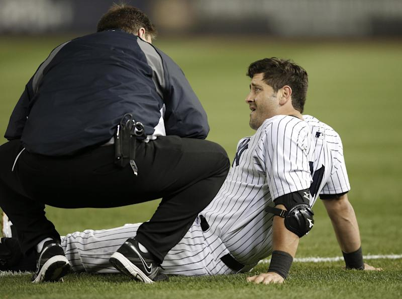 Who's on first? Yankees short on first basemen