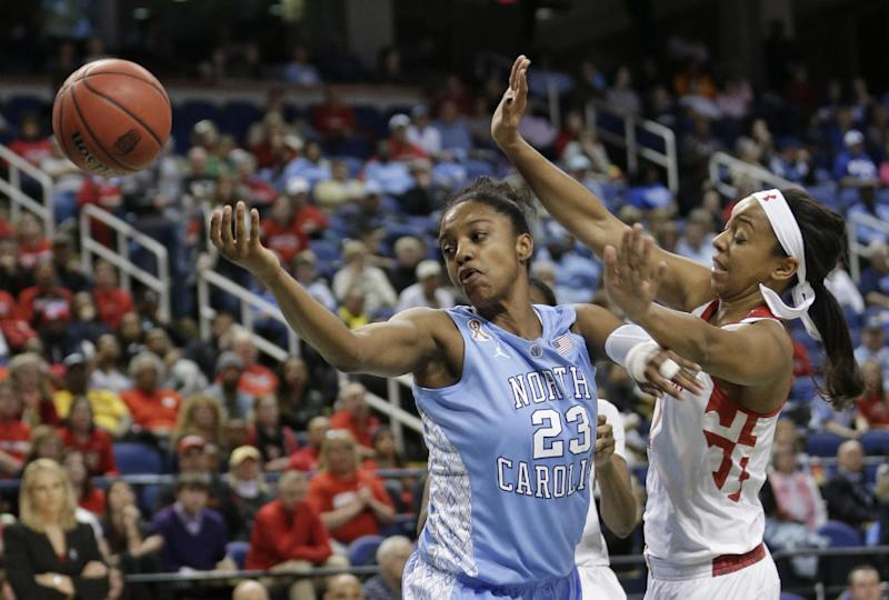 No. 13 UNC women beat No. 8 Maryland 73-70 in ACCs