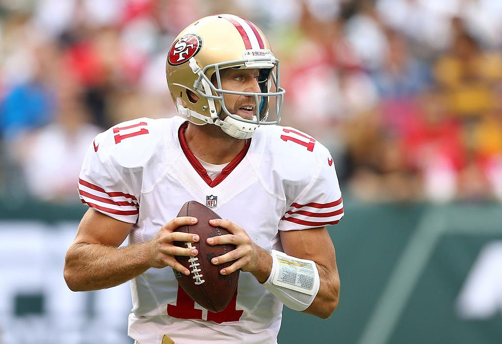 "49er standout. Up-and-comer Colin Kaepernick gets the glory, but the release of quarterback Alex Smith made him the most searched 49er in the past seven days (""alex smith release""). His coach has lavished accolades on the team player, calling him ""exceptional,"" ""phenomenal,"" and a ""role model,"" especially in light of his grace in losing the starting position."