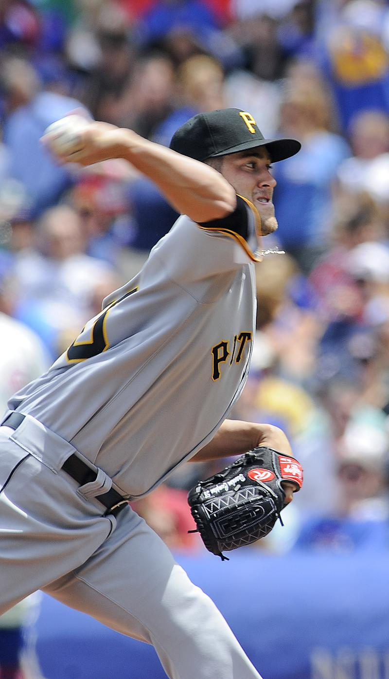 Pirates slip past Cubs for 2-1 victory