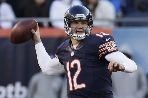 McCown making most of chance with Cutler injured