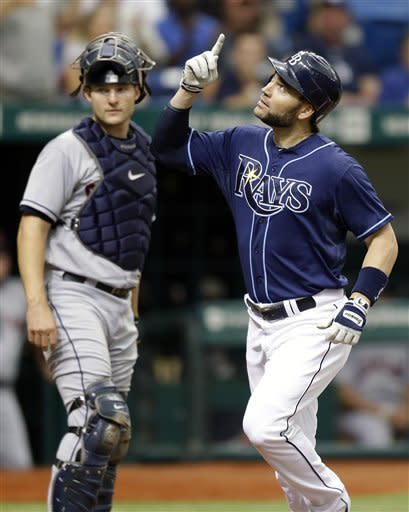 Price wins 13th; Rays beat Cleveland