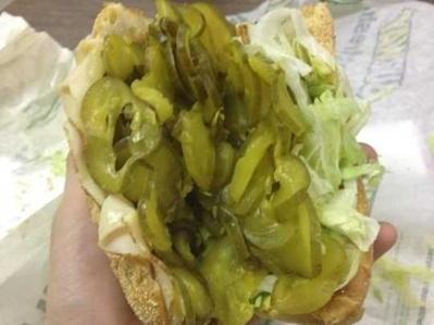 pickles subway sub