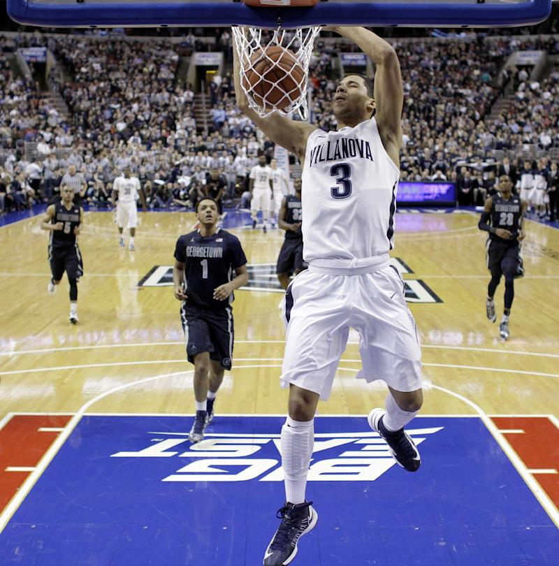 Hilliard leads No. 6 Villanova past Georgetown