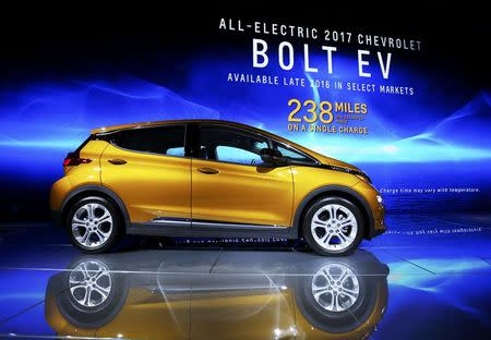 Carmakers show their caution on electric cars at LA Auto Show