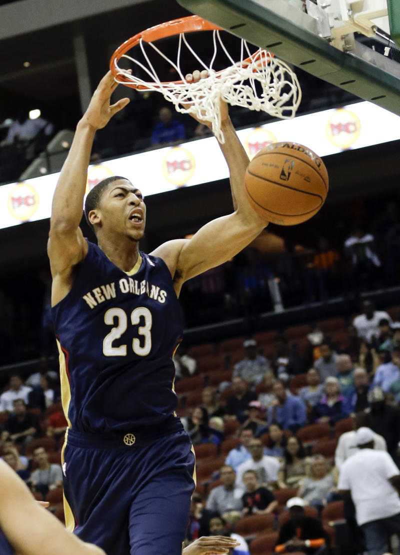 Davis leads Pelicans over Magic, 99-95