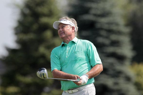 John Cook, Olin Browne share Champions Tour lead