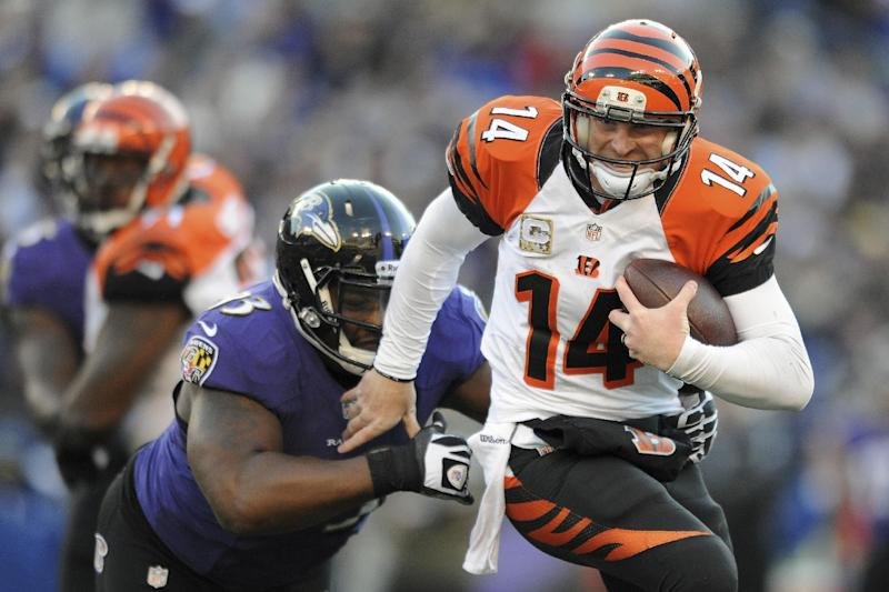 Bengals' control of AFC North slipping away in OT