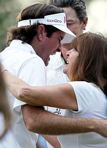 Bubba Watson won the Masters with his own brand of golf, but family trumps his green jacket