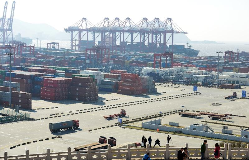 China trade in November rebounds from slump