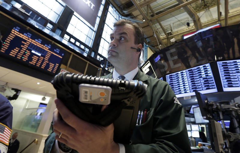Dow nears record, fueled by strong housing and Fed