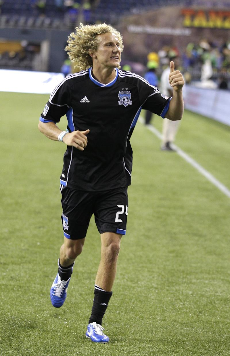 Lenhart leads Earthquakes to 2-1 win over RSL
