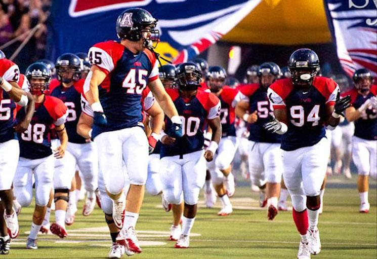Allen finds itself atop the Prep Rally PCS thanks to the strength of its Massey ranking — Allen Eagle Touchdown Club