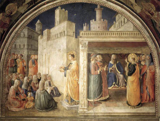 St Stephen's sermon and dispute before the Sanhedrin