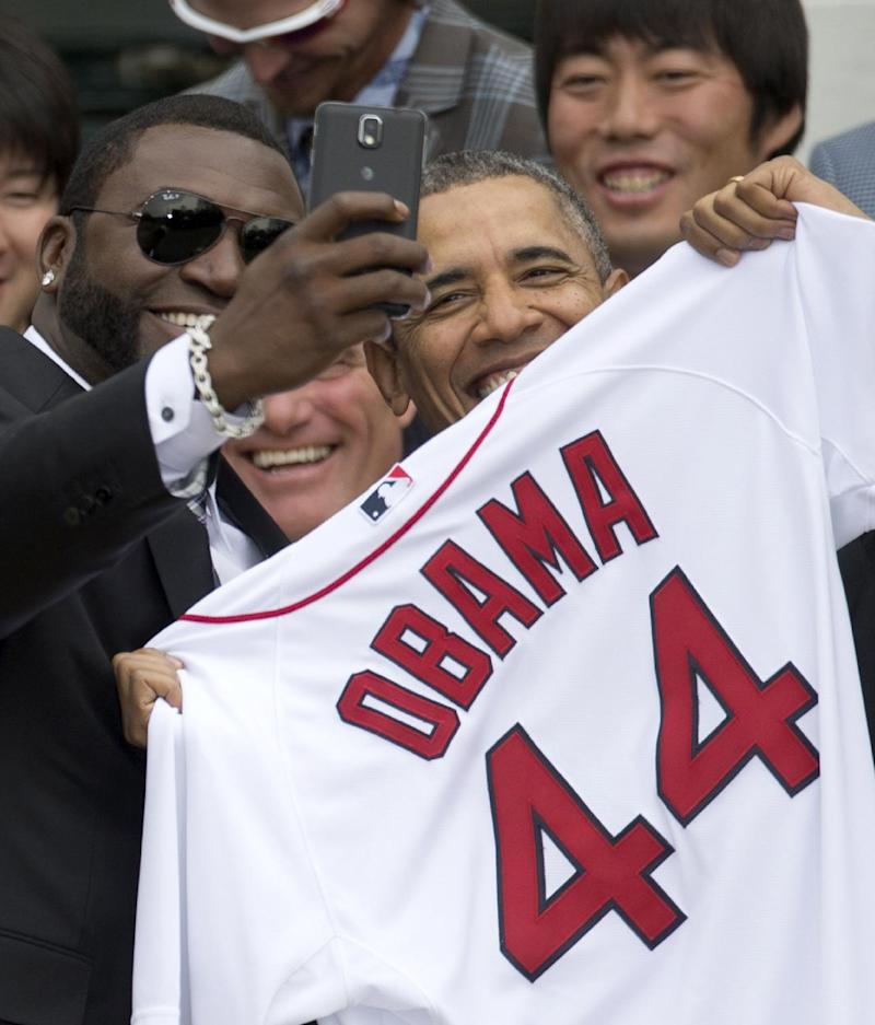 Obama welcomes World Series champion Red Sox