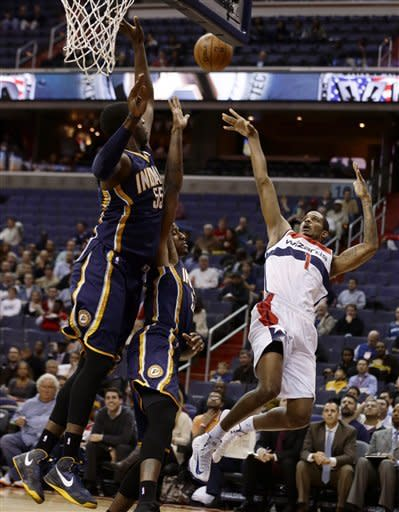 Wizards fall to 0-9 with 96-89 loss to Pacers