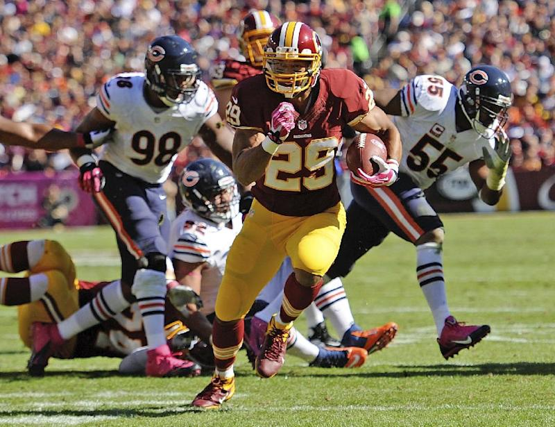With Helu, Washington has 3-pronged rushing attack