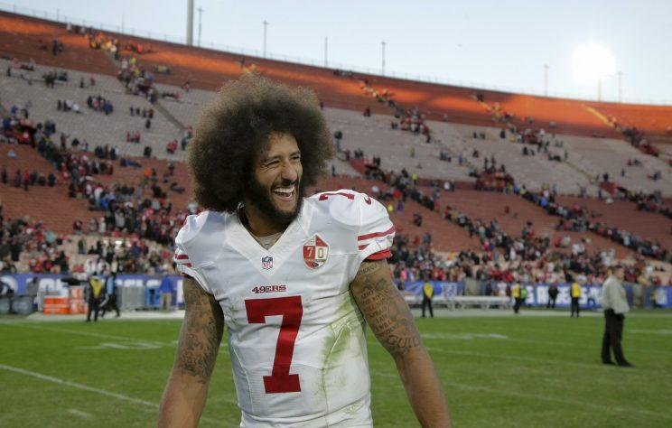 Colin Kaepernick wins 49ers most prestigious award