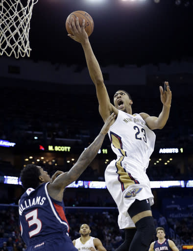 Anthony Davis picked to play in NBA All-Star game