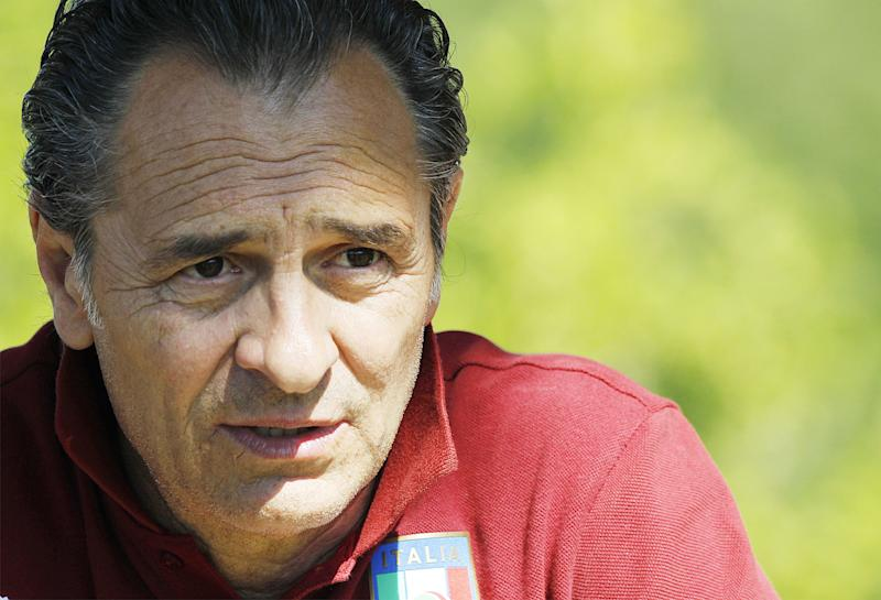 Prandelli: Rossi knew he wasn't in Italy WC squad